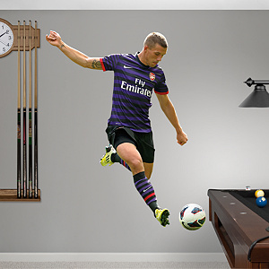 Lukas Podolski Fathead Wall Decal