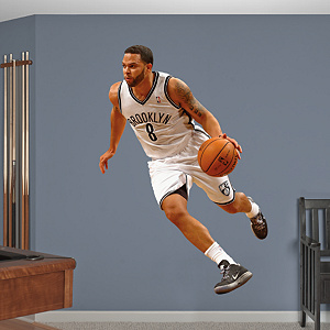 Deron Williams - No. 8 Fathead Wall Decal