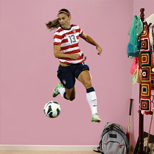 Alex Morgan - Ball Control Fathead Wall Decal