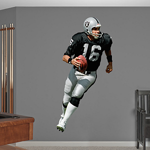 Jim Plunkett Fathead Wall Decal