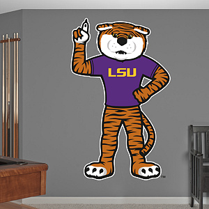 LSU Mascot - Mike The Tiger Fathead Wall Decal