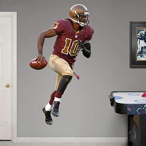 Robert Griffin III - Throwback Fathead Wall Decal