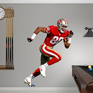 Jerry Rice Fathead Wall Decal