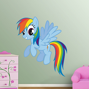 Rainbow Dash Fathead Wall Decal