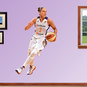 Diana Taurasi - No. 3 Fathead Wall Decal