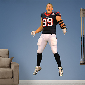 J.J. Watt Entrance Fathead Wall Decal