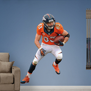 Wes Welker - Receiver Fathead Wall Decal