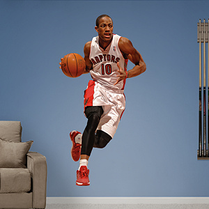 DeMar DeRozan Fathead Wall Decal