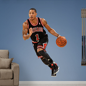 Derrick Rose - Away Fathead Wall Decal