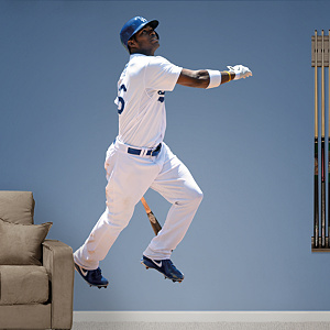 Yasiel Puig Fathead Wall Decal