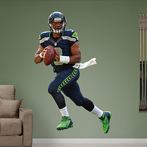 Russell Wilson Fathead Wall Decal