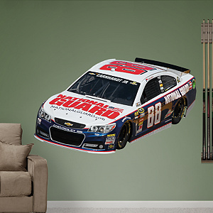 Dale Earnhardt Jr. 2013 National Guard Car Fathead Wall Decal