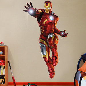 Iron Man The Armored Avenger Fathead Wall Decal