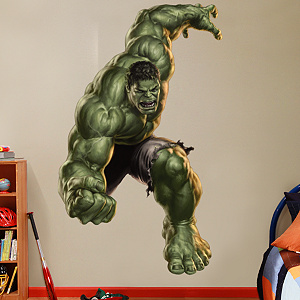 Hulk: The Incredible Avenger Fathead Wall Decal
