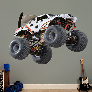 Monster Mutt - Dalmatian Fathead Wall Decal