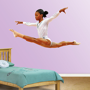 Gabby Douglas - Leap Fathead Wall Decal