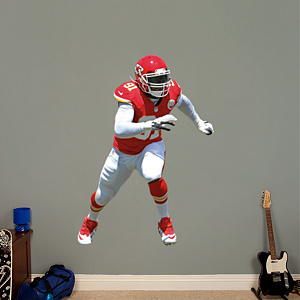 Tamba Hali Fathead Wall Decal
