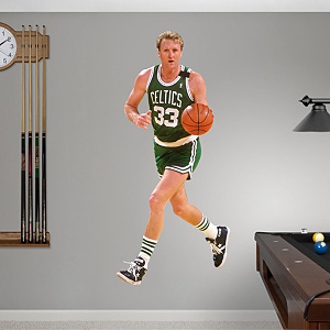 Larry Bird Fathead Wall Decal