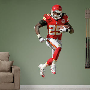 Jamaal Charles - Home Fathead Wall Decal