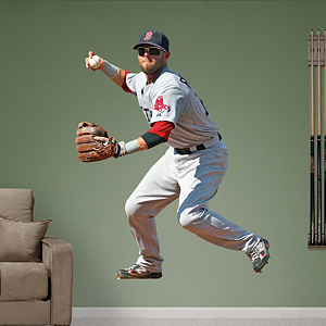 Dustin Pedroia - Second Baseman Fathead Wall Decal