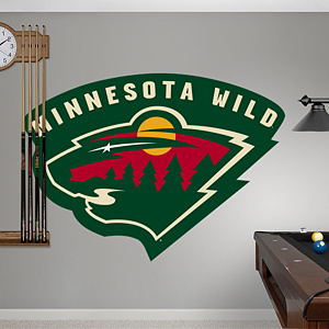 Minnesota Wild Logo Fathead Wall Decal