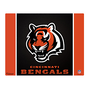 "Cincinnati Bengals Logo 17"" Laptop Skin Decal"
