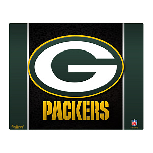 "Green Bay Packers Logo 15/16"" Laptop Skin"