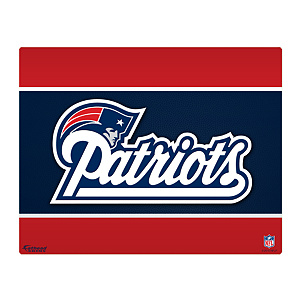 "New England Patriots Logo 17"" Laptop Skin"