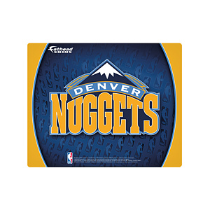 "15/16"" Laptop Skin Denver Nuggets Logo Decal"