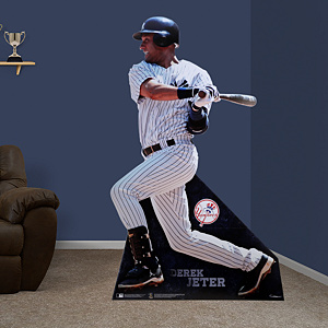 Life-Size Derek Jeter Fathead Stand Out
