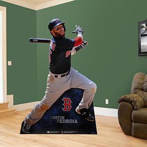 Dustin Pedroia Fathead Stand Out