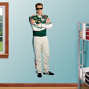 Dale Earnhardt Jr. Amp Driver Fathead Wall Decal