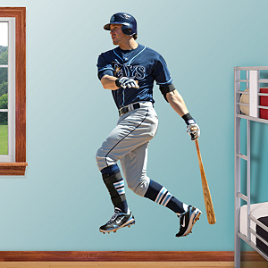 Evan Longoria - Third Baseman Fathead Wall Decal