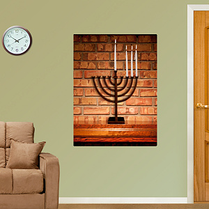 Menorah Fathead Wall Decal