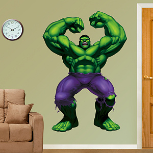 The Incredible Hulk Fathead Wall Decal