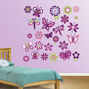 Garden Collection Fathead Wall Decal