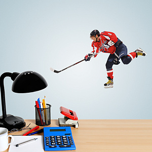 Alex Ovechkin Teammate Fathead Wall Decal