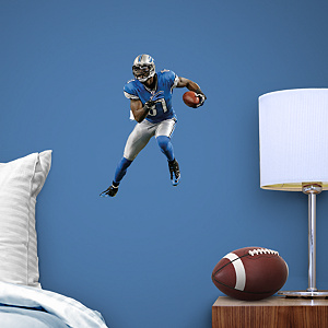 Calvin Johnson Jr. Teammate Fathead Wall Decal