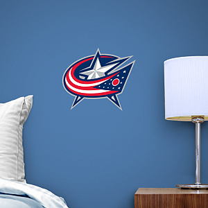 Columbus Blue Jackets Teammate Fathead Wall Decal