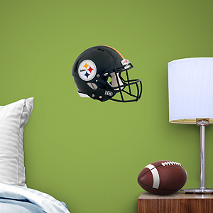 Pittsburgh Steelers Helmet Teammate Fathead Wall Decal
