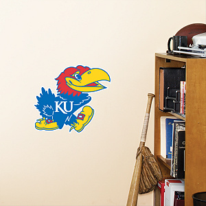 Kansas Jayhawks Teammate Fathead Wall Decal