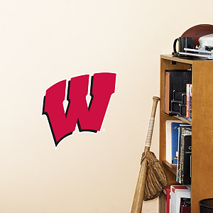 Wisconsin Badgers Teammate Fathead Wall Decal