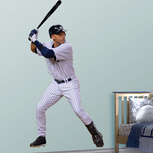 Life-Size Derek Jeter Wall Decal