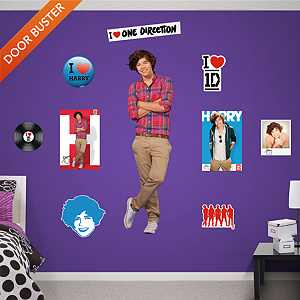 Harry Styles: One Direction   Fathead Wall Decal