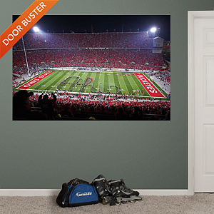 Ohio State - Script Ohio Stadium Mural Fathead Wall Decal