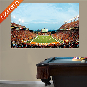 Darrell K Royal - Texas Memorial Stadium Mural Fathead Wall Decal