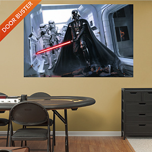Darth Vader™ & Stormtroopers™ Fallen Rebel Mural Fathead Wall Decal