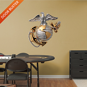USMC Symbol - Eagle, Globe & Anchor Fathead Wall Decal