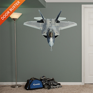 F-22 Raptor Fathead Wall Decal