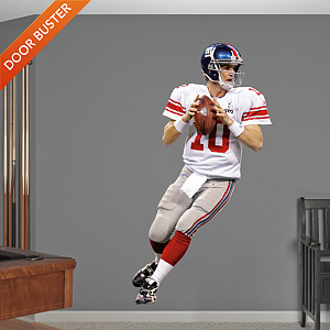 Eli Manning Super Bowl XLVI MVP Fathead Wall Decal